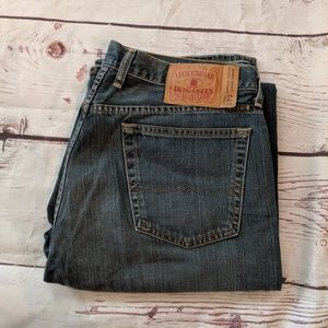 Lucky Jeans 1VG Low-rise Bootleg Size 36 X- Long